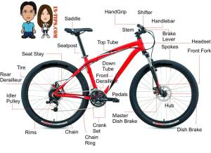 Bagian-bagian Sepeda Gunung (MTB) | Syndrome XC
