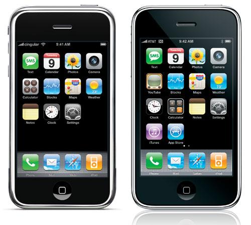 Ketenaran iPhone tidak luput dari pengaruh teknologi touchscreen. Jika